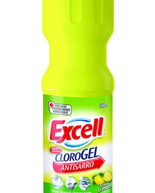 Cloro Gel Excell Limon 900CC